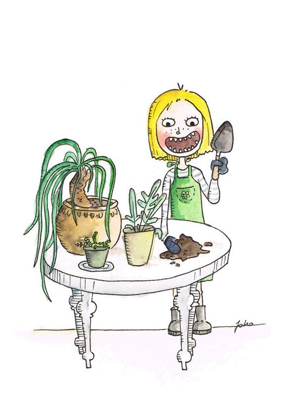 Gartenarbeit-schnell