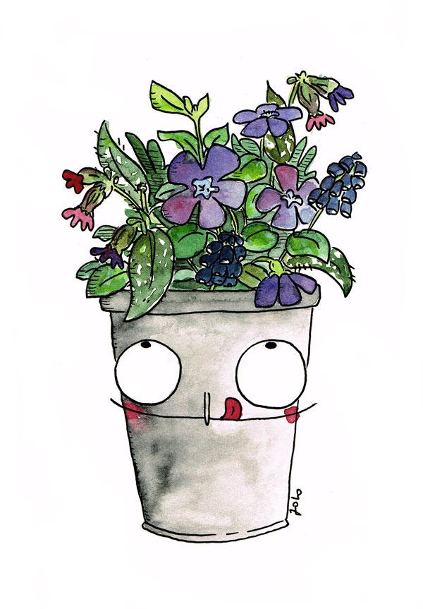 Blumenstrauß-schnell