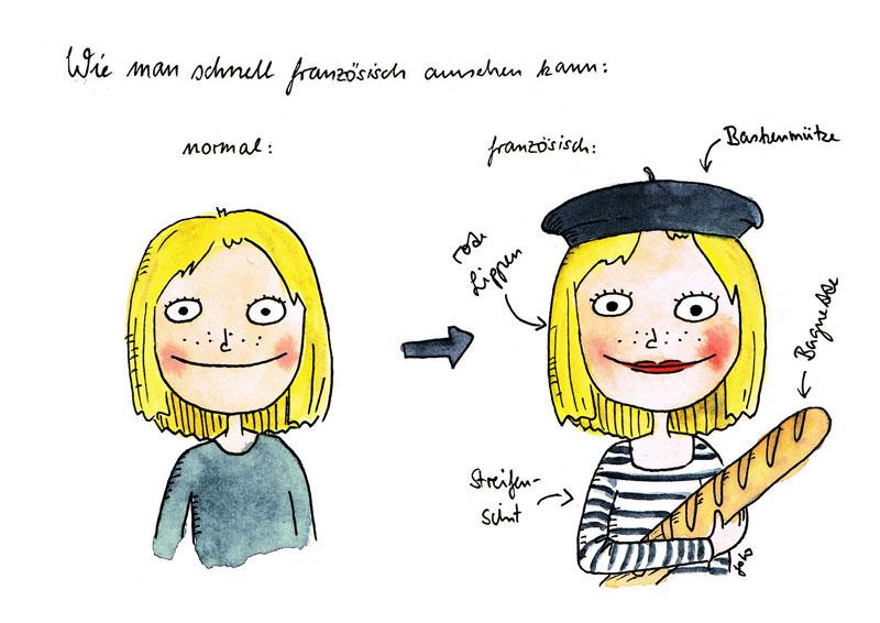 Französisch-schnell