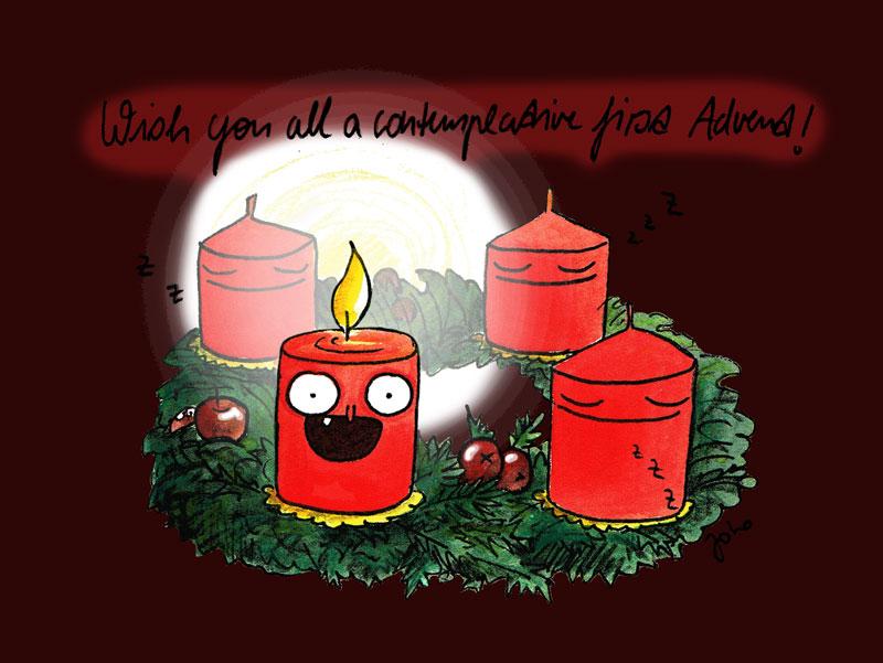 1.Advent-schnell